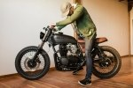 Кастом Honda CB550 Fade To Black - фото 10