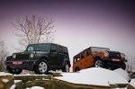 Тест-драйв Jeep Wrangler: Сталкиваем в грязь
