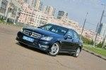 "Тест-драйв Mercedes C-Class: ""Ц""енный кадр!"