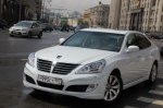 Тест-драйв Mercedes S-Class: Хендай Экус против Лексус LS 460 и S-класса