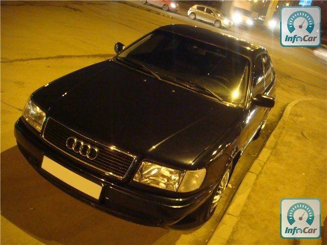 Частное объявление о продаже б.у. автомобиля Audi 100 c4 (синий) 1993
