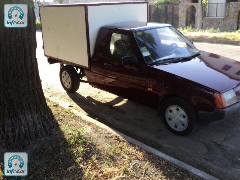 Рамный грузовик из таврии
