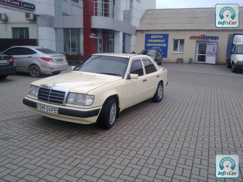 35 фото Mercedes-Benz 250 1986. Мегафото.