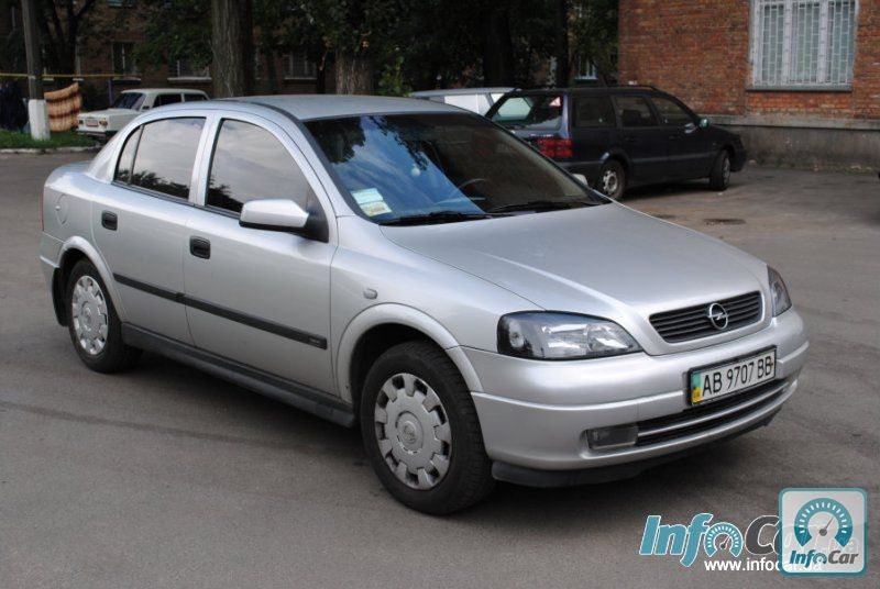 Opel astra g 2003 for Opel astra g interieurfilter
