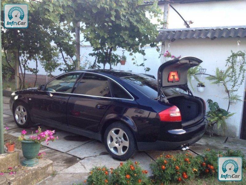 Правый руль! Audi A6, 2002 года, г. Виноградов. Комфорт  Бортовой