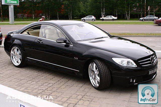 Купить автомобиль Mercedes CL-Class BRABUS W12 2008 (черный) без ...