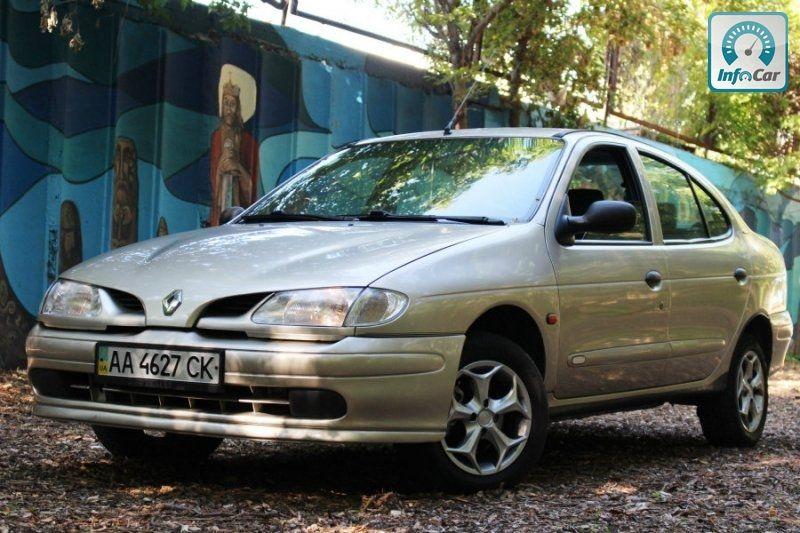 растаможка авто renault megane 1998