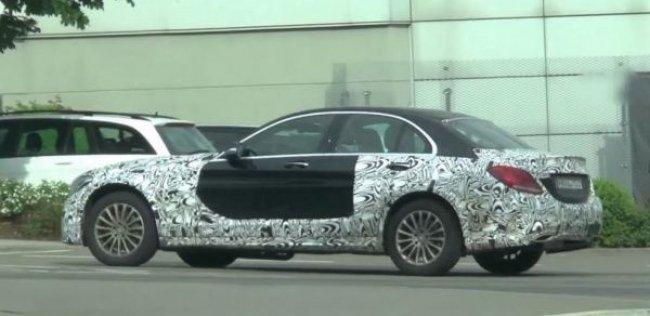 В Германии замечен загадочный прототип Mercedes