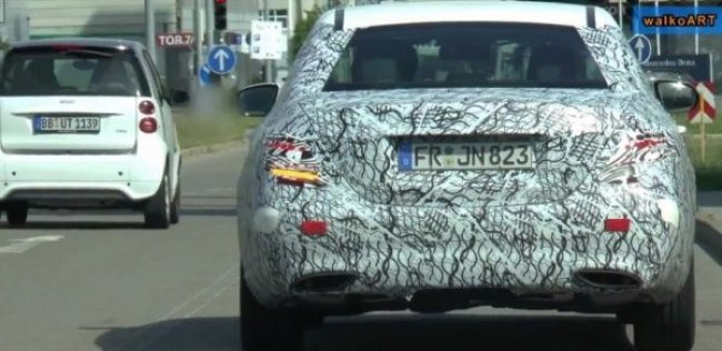 Новый Mercedes-Benz E-класса: первое видео