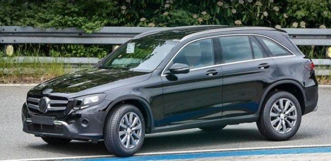Mercedes GLC получит наддувные моторы и пневмоподвеску