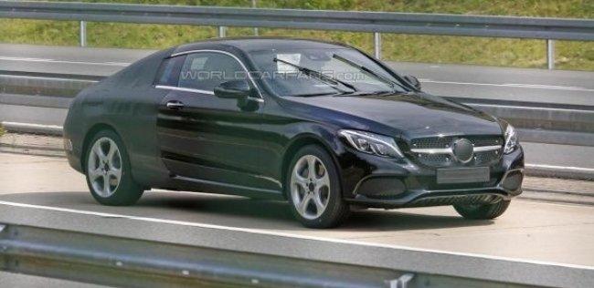 Купе Mercedes-Benz C-Class станет более солидным