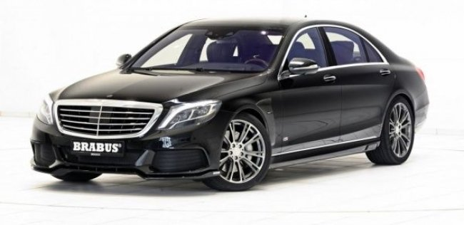 Brabus «зарядил» гибридный Mercedes-Benz S-Class