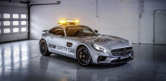 Купе Mercedes-AMG GT стало автомобилем безопасности DTM