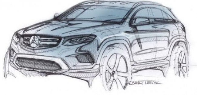 Mercedes-Benz GLC будет представлен 17 июня