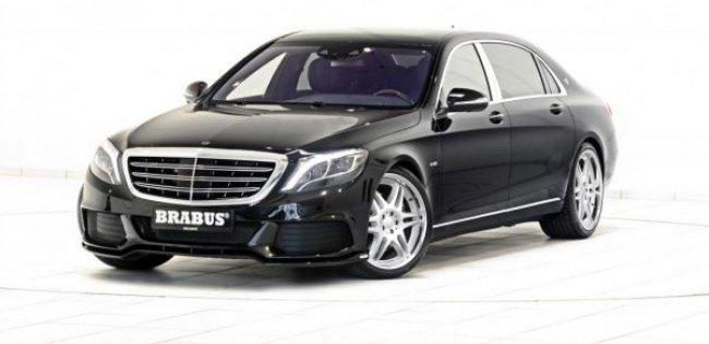 Brabus тюнинговал Mercedes-Maybach S600