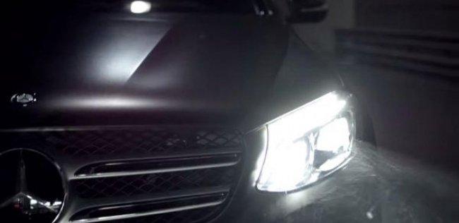 Преемника Mercedes-Benz GLK рассекретили в видеотизере