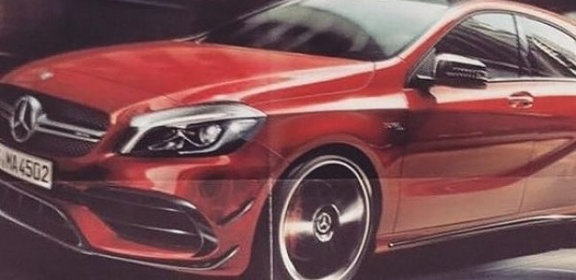 Mercedes привезет во Франкфурт самый мощный серийный хэтчбек