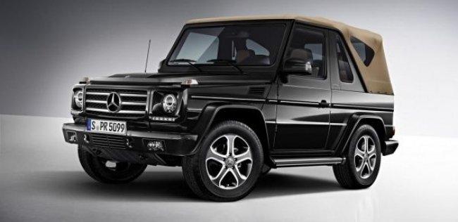Mercedes-Benz может возродить кабриолет G-Class