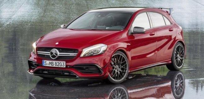 Mercedes показал самый мощный хэтчбек в мире