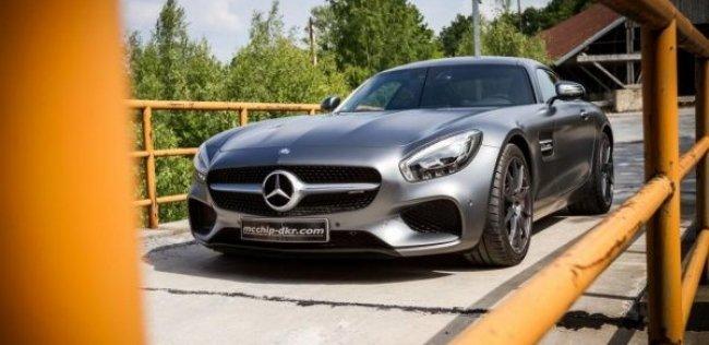 Спорткару Mercedes-AMG GT добавили мощности