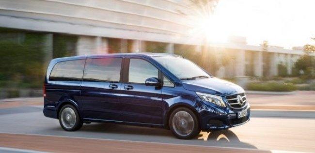 За год продано более 20 000 минивэнов Mercedes-Benz V-Class