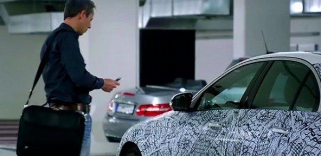 Новый Mercedes-Benz E-Class можно будет открыть при помощи смартфона