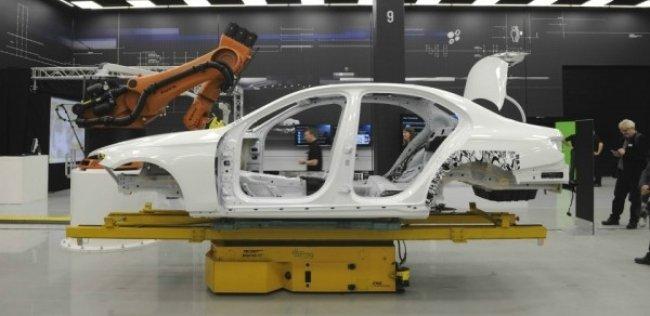 Сфотографирован кузов нового Mercedes-Benz E-Class