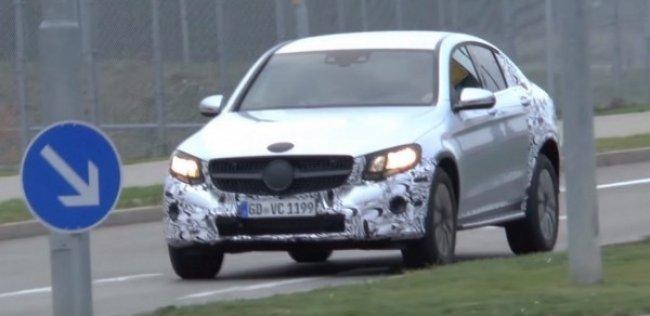Mercedes-Benz GLC Coupe составит конкуренцию BMW X4