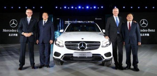 Mercedes-Benz начал производство GLC в Китае