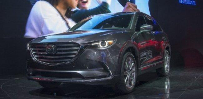 Mazda представила большой кроссовер CX-9