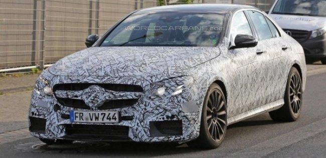 Названа дата премьеры нового Mercedes E-Class