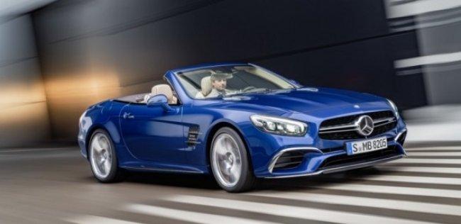Продажи Mercedes-Benz SL начнутся в апреле