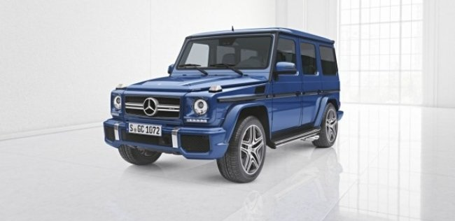 Mercedes-Benz обновил внедорожник G-Class
