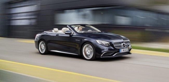 Mercedes-AMG представил кабриолет S65