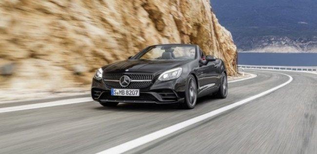Новый родстер Mercedes-Benz SLC выйдет в марте