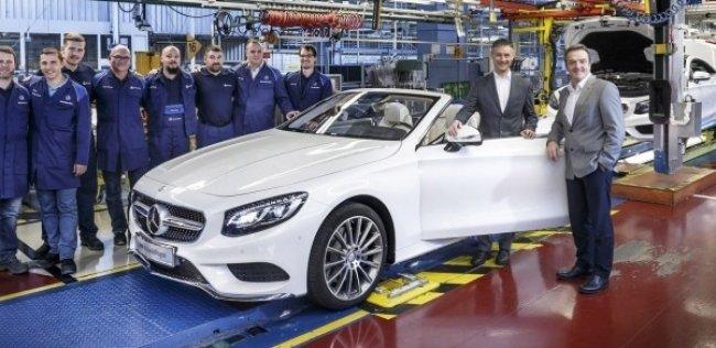 Mercedes-Benz объявил цену на S-Class Кабриолет