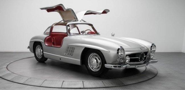 Эксклюзивный Mercedes полувековой давности продали почти за $2 млн
