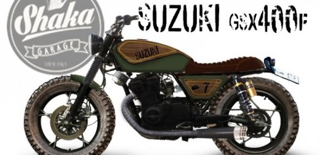 ������ Suzuki GSX400F Tracker Wood