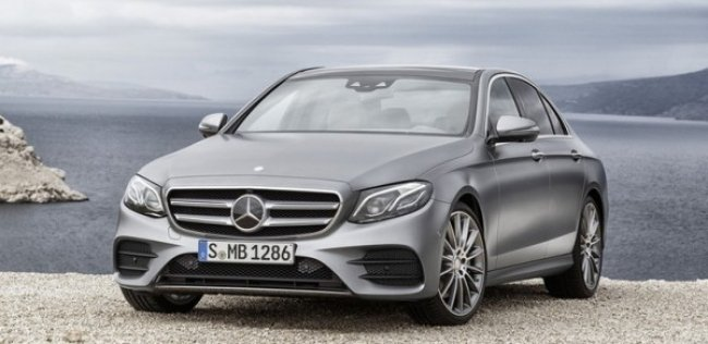В Интернет «утекли» фотографии нового Mercedes-Benz E-Class