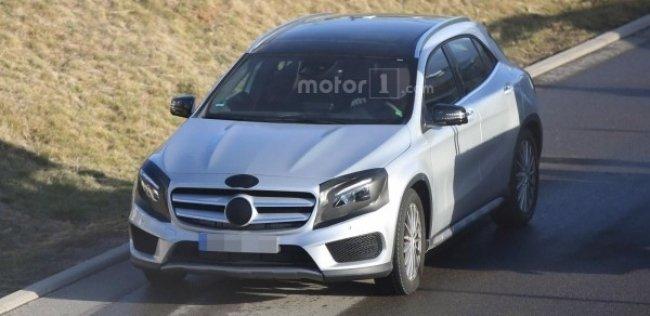 Mercedes вывел на завершающие тесты обновленный GLA