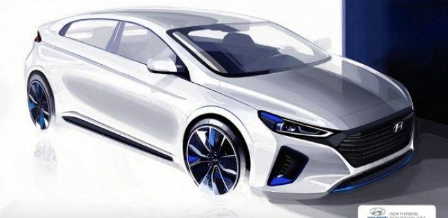 Hyundai обещает показать модель IONIQ в конце января