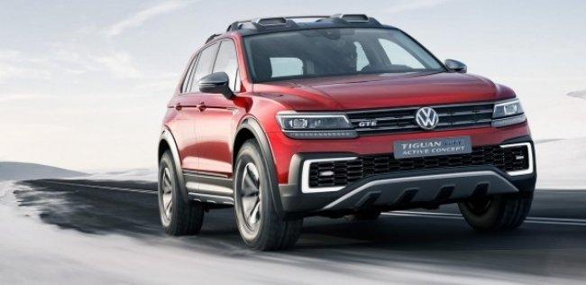 VW Tiguan GTE Active: ������ ���� ������ ���������� ������