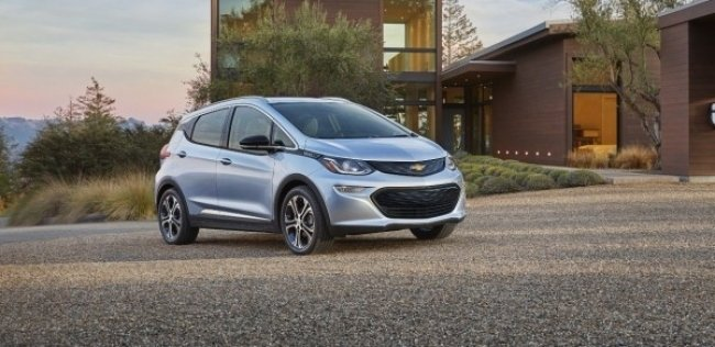 Chevrolet ����������� ������������� ������� Bolt EV