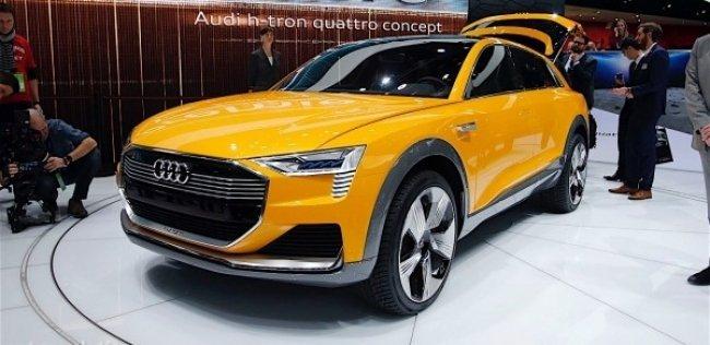 Компания Audi привезла в Детройт водородный кроссовер