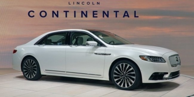 Lincoln возродил седан Continental