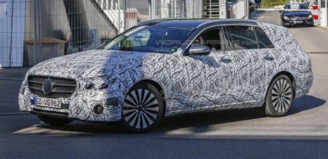 Новый универсал Mercedes-Benz «даст бой» Audi A6 Allroad