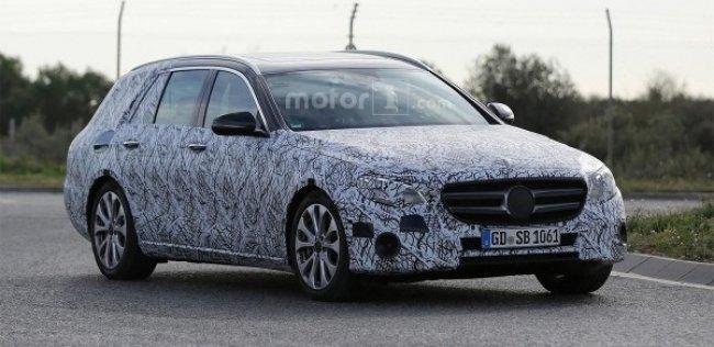 Mercedes вывел на тесты новое поколение универсала E-Class