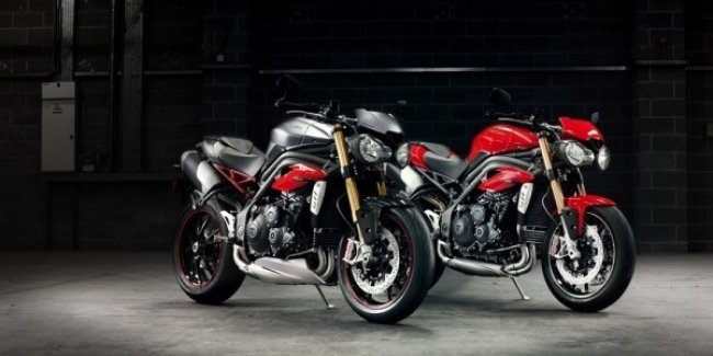 Новые мотоциклы Triumph Speed Triple R / Speed Triple S 2016