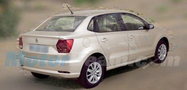 Volkswagen Ameo - ����� ����� ������ Polo