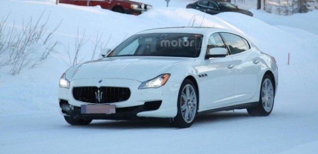 Обновленный Maserati Quattroporte представят в 2017 году